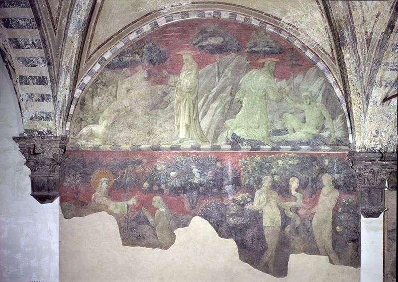 Створення Адама і земних тварин   Паоло Уччелло