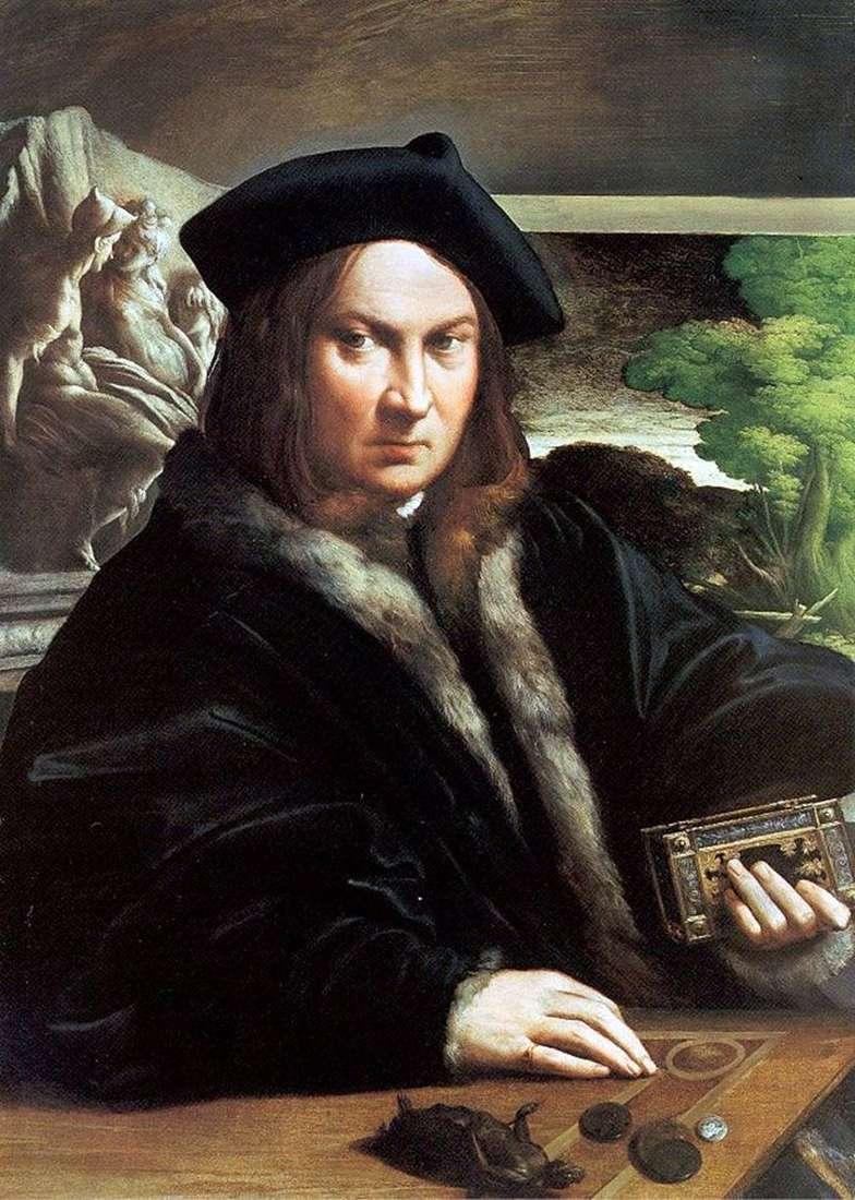 Портрет чоловіка   Франческо Пармиджанино