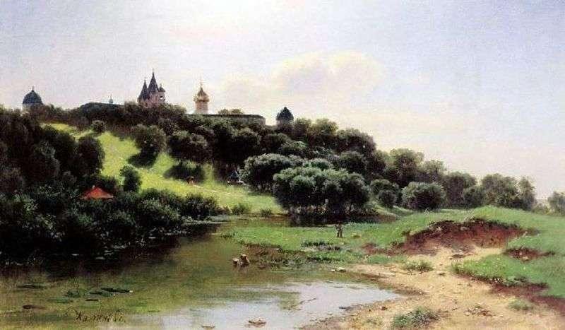 Савино Сторожевський монастир під Звенигородом   Лев Львович Каменєв