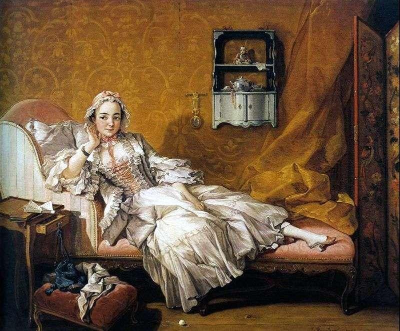Портрет дружини художника Марі Жанні Бюзо   Франсуа Буше