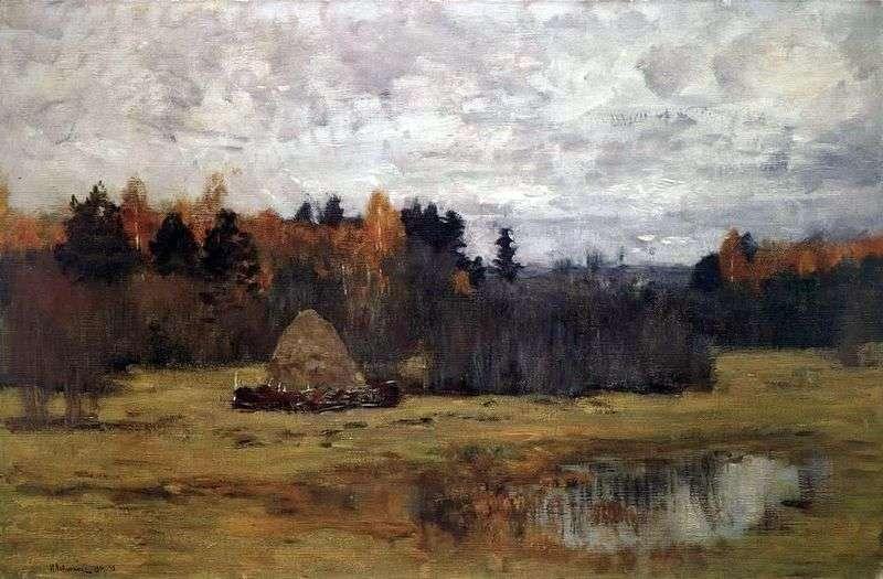 Пізня осінь   Ісаак Левітан