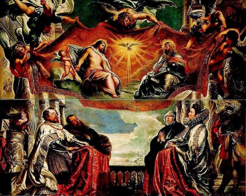 Сімейство Гонзага поклоняється Троїце   Пітер Рубенс