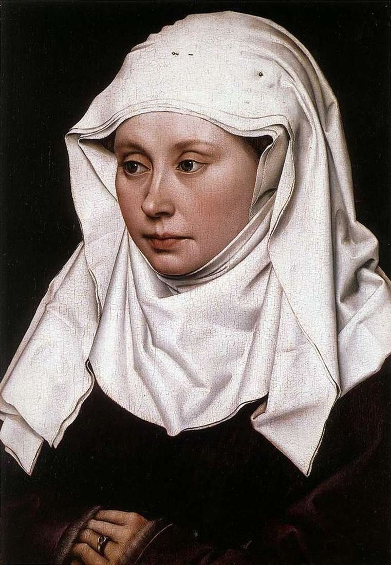 Жіночий портрет   Робер Кампен