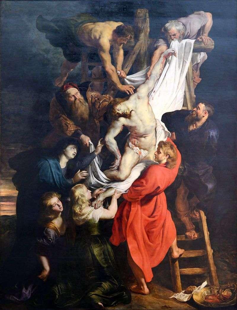Зняття з хреста   Пітер Рубенс