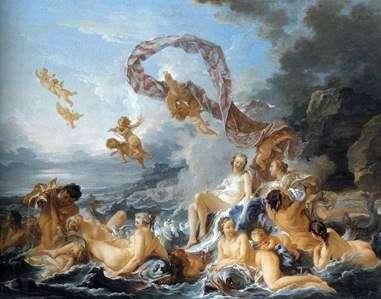 Народження Венери   Франсуа Буше