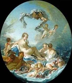 Тріумф богині Венери   Франсуа Буше