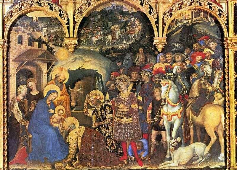 Поклоніння волхвів   Джентіле та Фабріано
