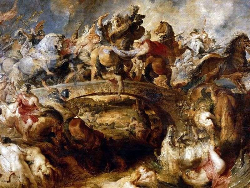Битва амазонок   Пітер Рубенс
