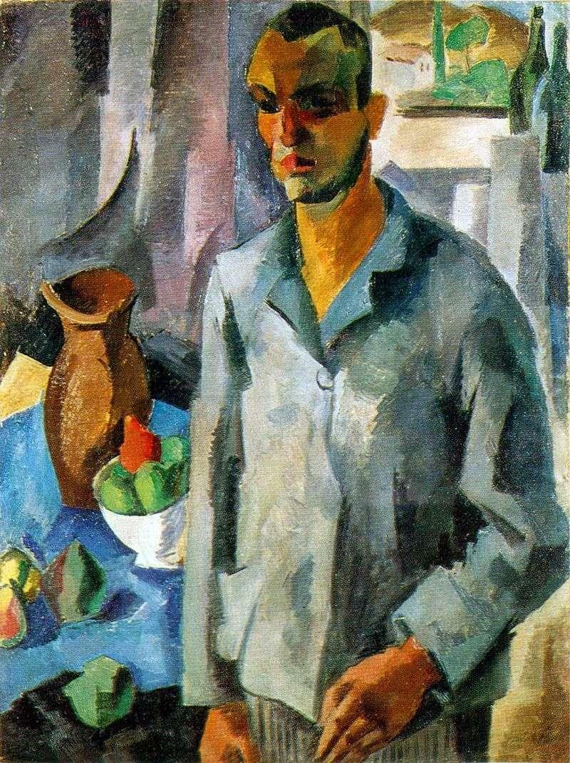 Автопортрет на тлі вікна   Роберт Фальк