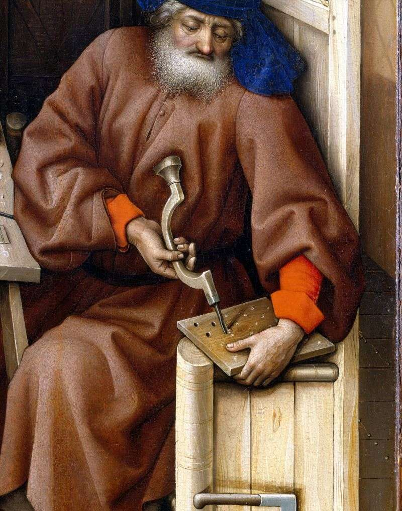 Триптих Мероде. Права стулка   Робер Кампен
