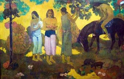 Збір плодів   Поль Гоген