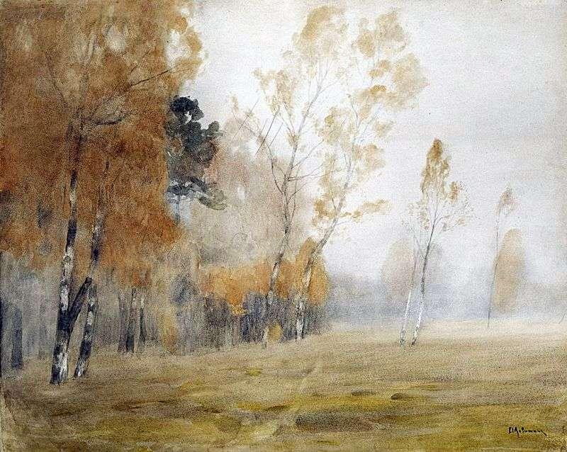 Туман. Осінь   Ісаак Левітан
