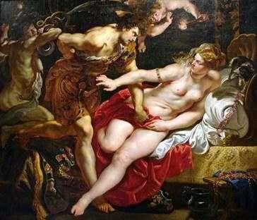 Тарквіній і Лукреція   Пітер Рубенс