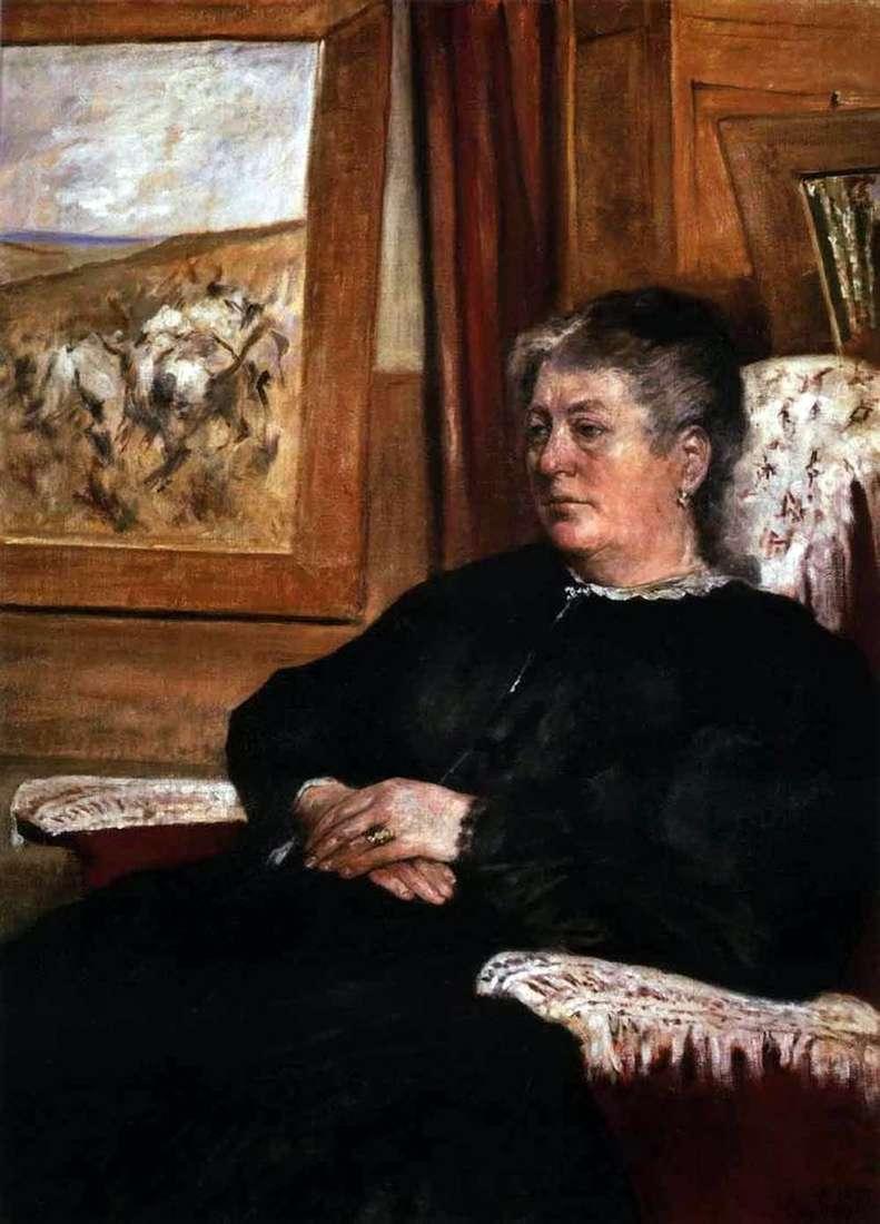 Портрет дружини   Джованні Фаттори