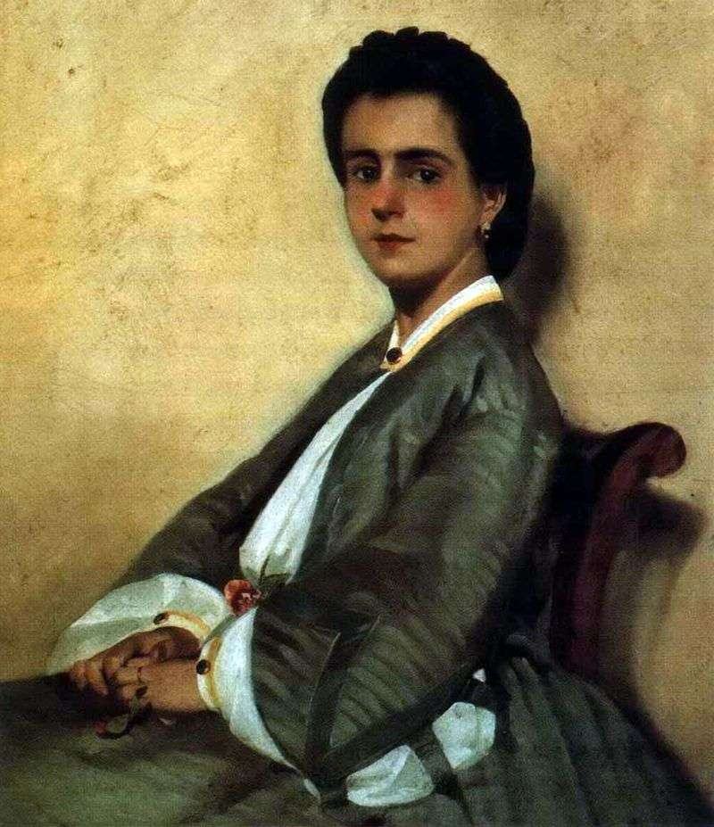 Портрет кузини Арджии   Джованні Фаттори