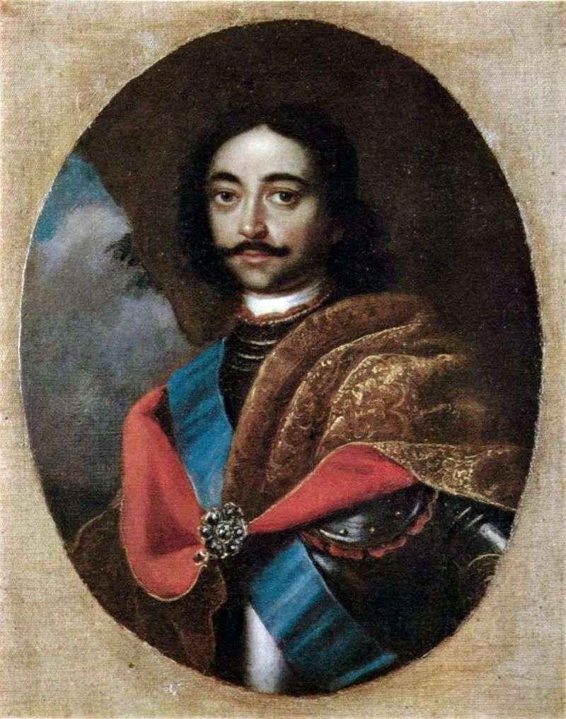 Портрет Петра I   Адольский Іван