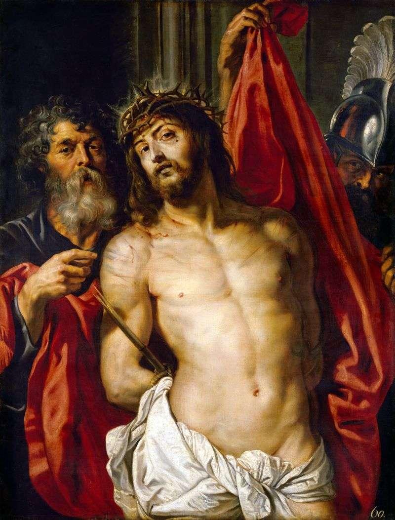 Христос у терновому вінці   Пітер Рубенс