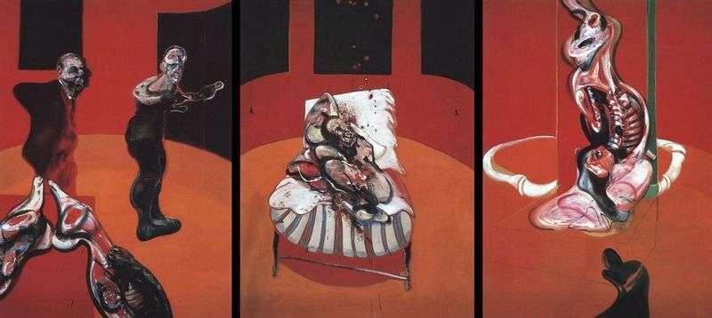 Три етюду фігур у Розпяття   Френсіс Бекон