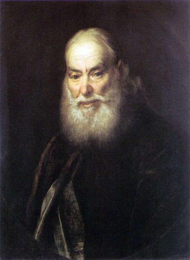 Портрет Левицького Р. До (батько художника)   Дмитро Левицький