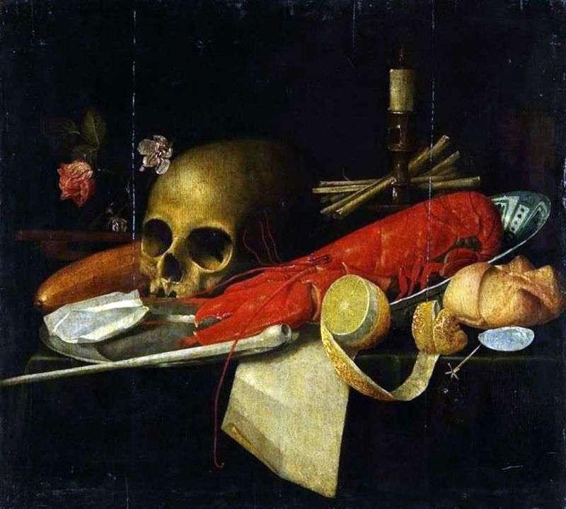 Натюрморт з черепом (Ванітас)   Невідомо
