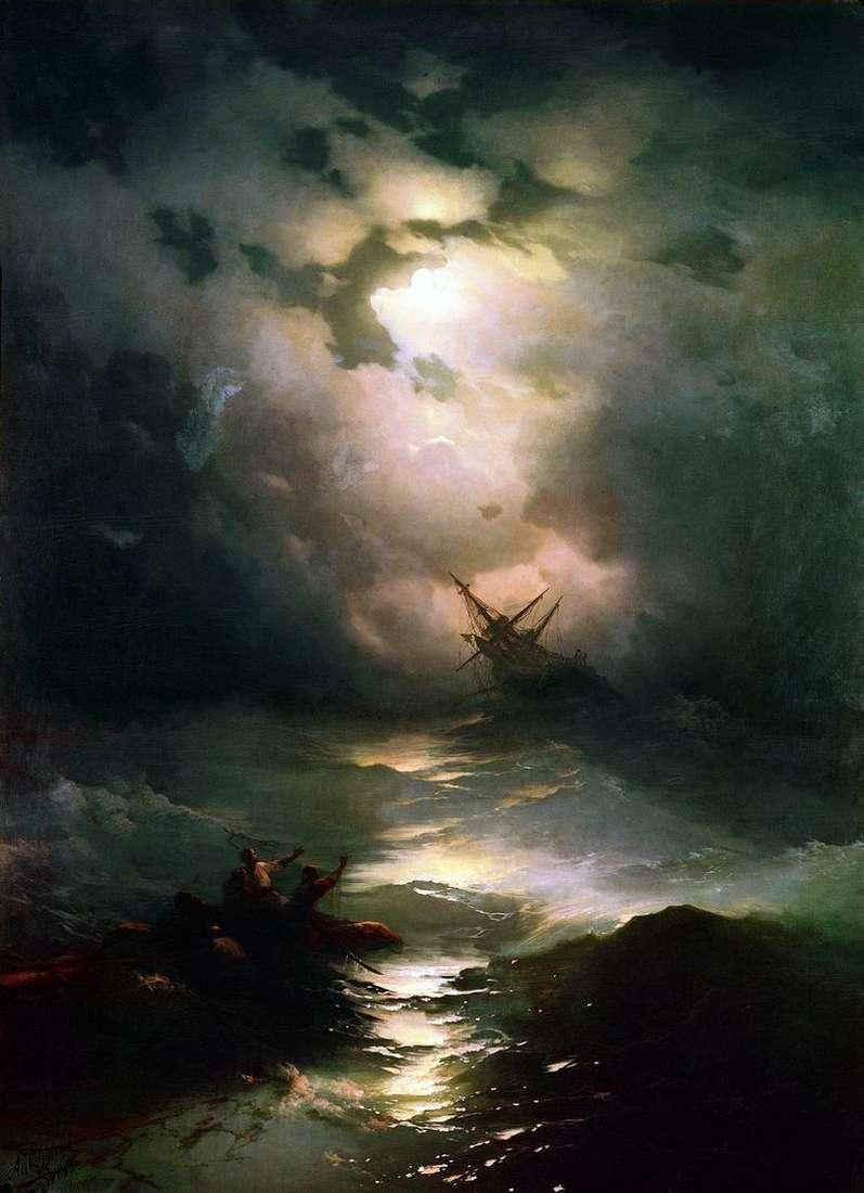 Буря на північному морі   Іван Айвазовський