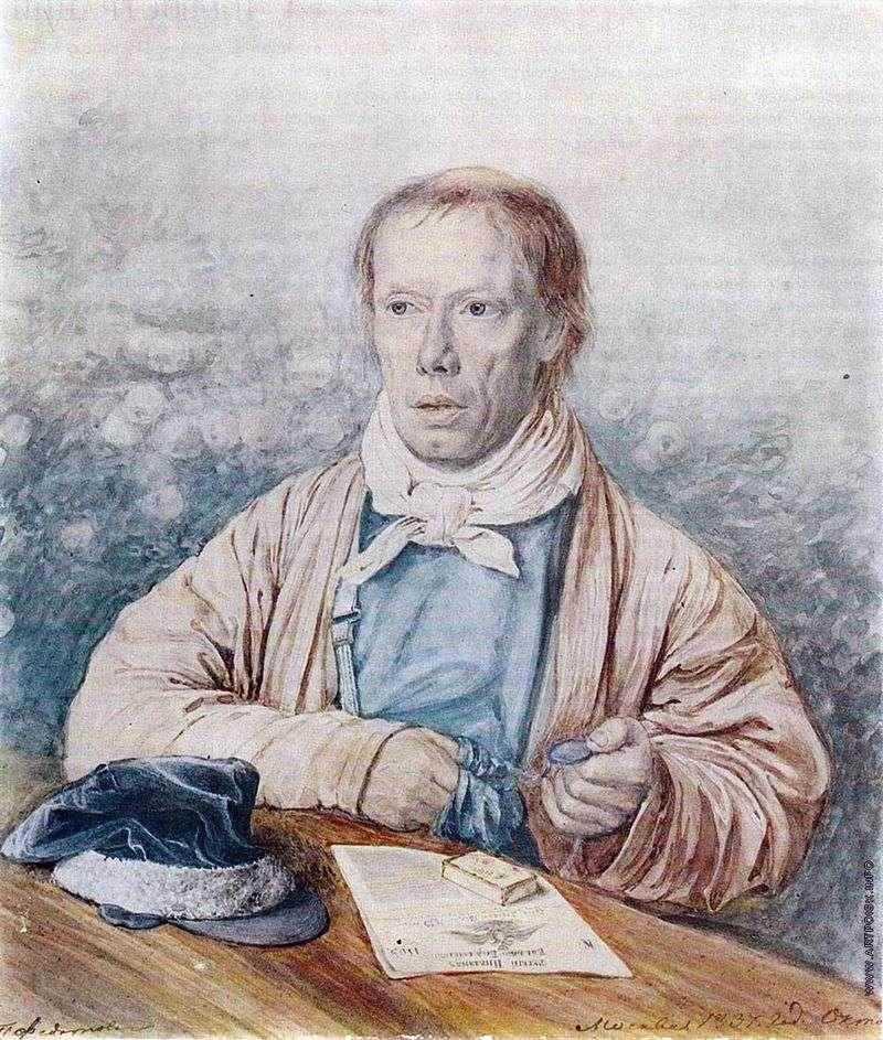 Портрет батька   Павло Федотов