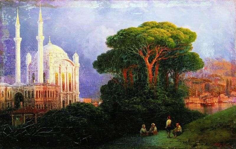 Вид Константинополя   Іван Айвазовський