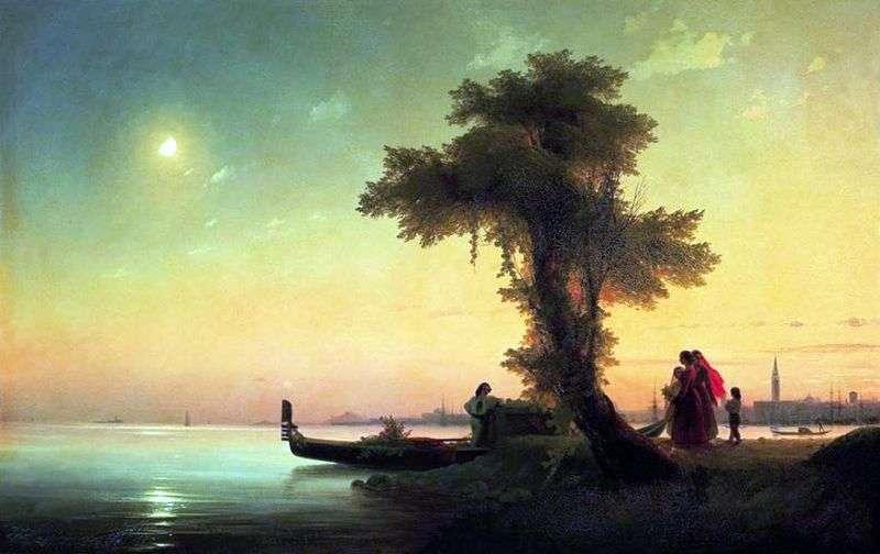 Вид на венеціанську лагуну   Іван Айвазовський