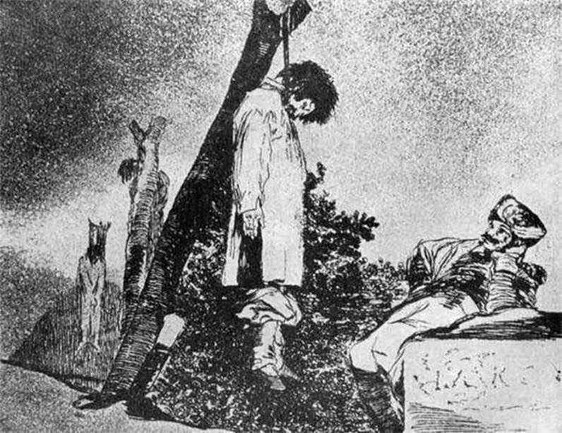 Гравюри Капрічос (Вередування) Жахи війни   Франсіско де Гойя
