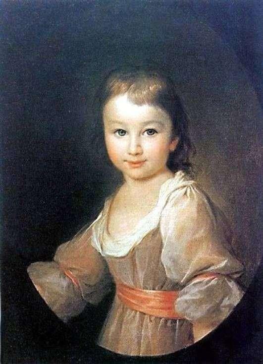 Портрет Параски Воронцової   Дмитро Левицький
