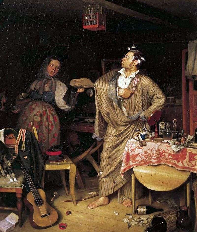 Свіжий кавалер. Ранок чиновника, який отримав перший хрестик   Павло Федотов