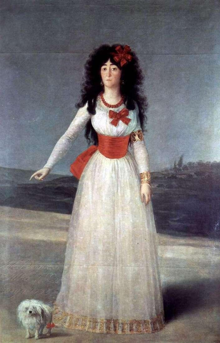 Каетана Альба   Франсіско де Гойя