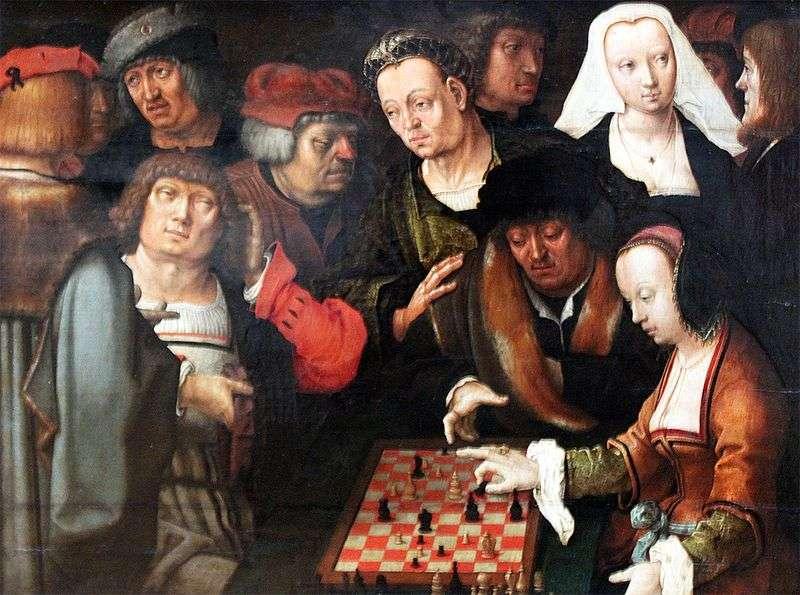Гра в шахи   Лукас ван Лейден