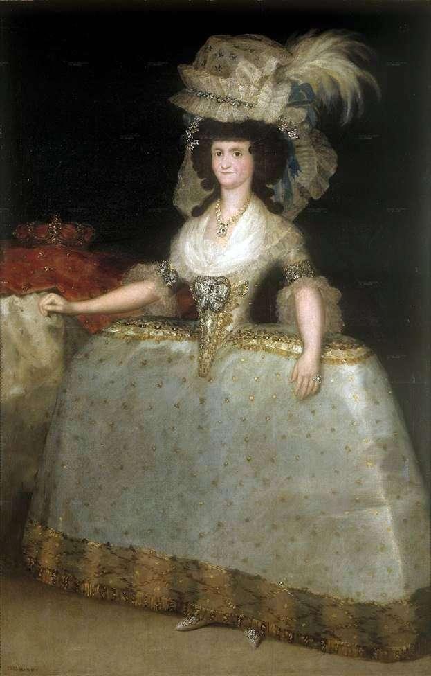 Марія Луїза   Франсіско де Гойя