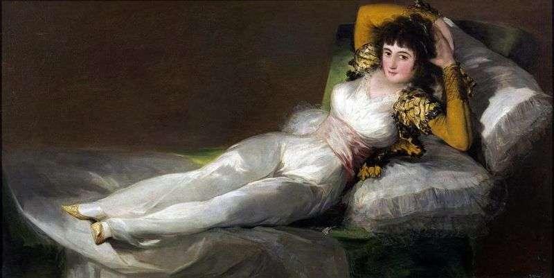 Маха одягнена   Франсіско де Гойя
