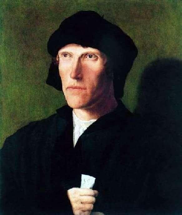 Портрет тридцятивосьмирічного чоловіки   Лукас ван Лейден
