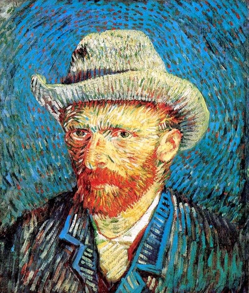 Автопортрет у фетровому капелюсі   Вінсент Ван Гог