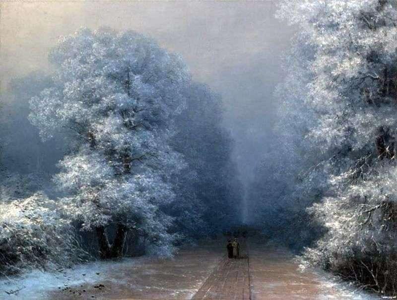 Зимовий пейзаж   Іван Айвазовський