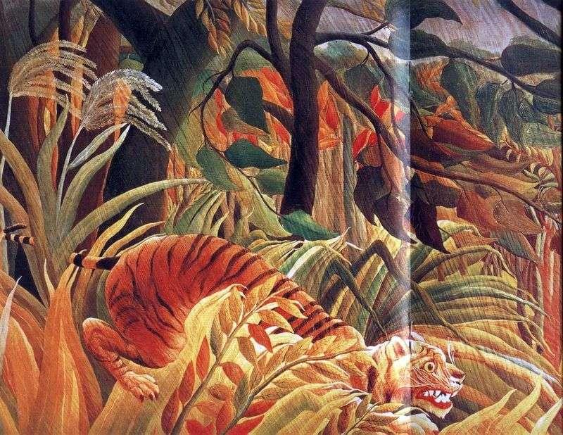 Напад у джунглях   Анрі Руссо