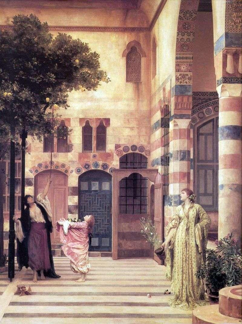Єврейський квартал старого Дамаску   Фредерік Лейтон