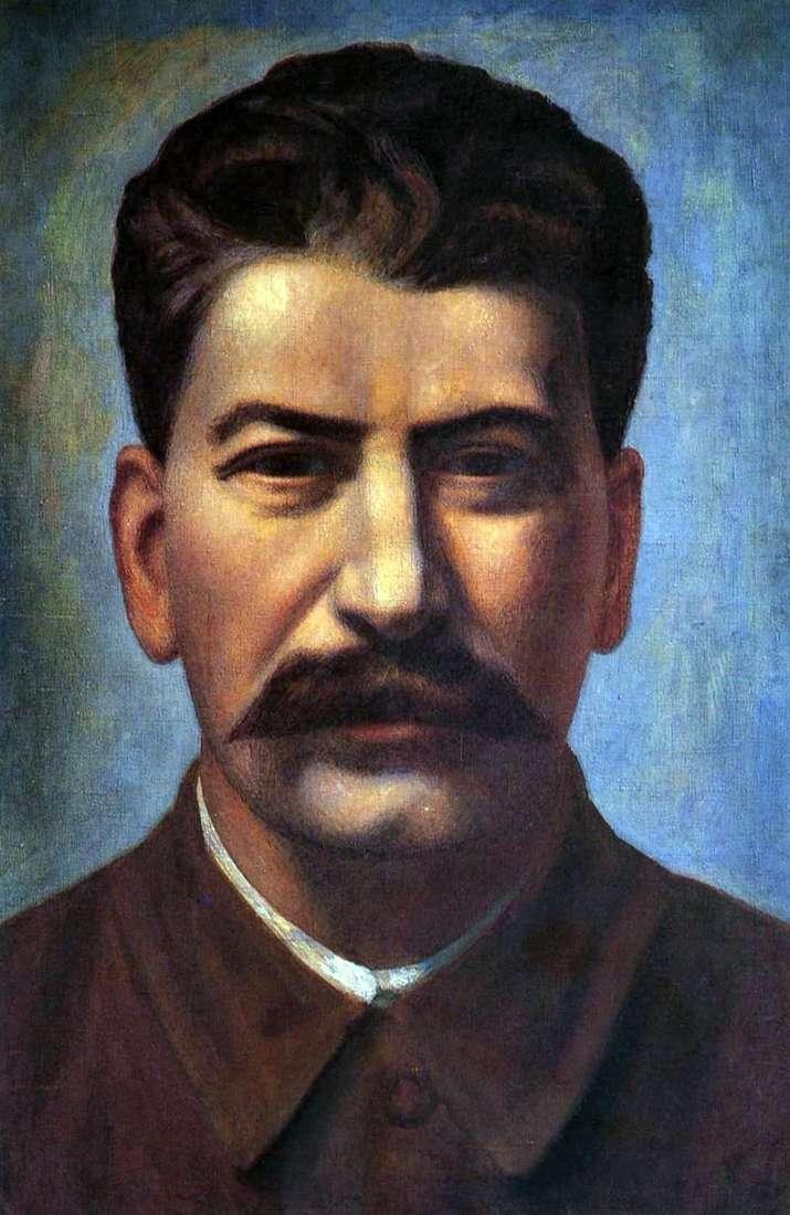 Портрет В. В. Сталіна   Павло Філонов