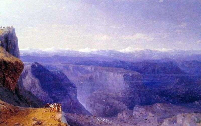 Кавказ   Іван Айвазовський