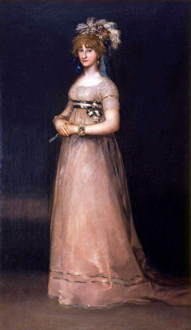 Портрет графині де Чінчон   Франсіско де Гойя