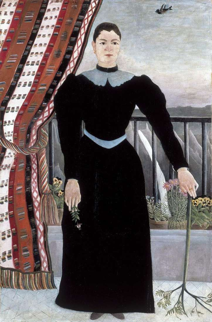 Портрет жінки   Анрі Руссо
