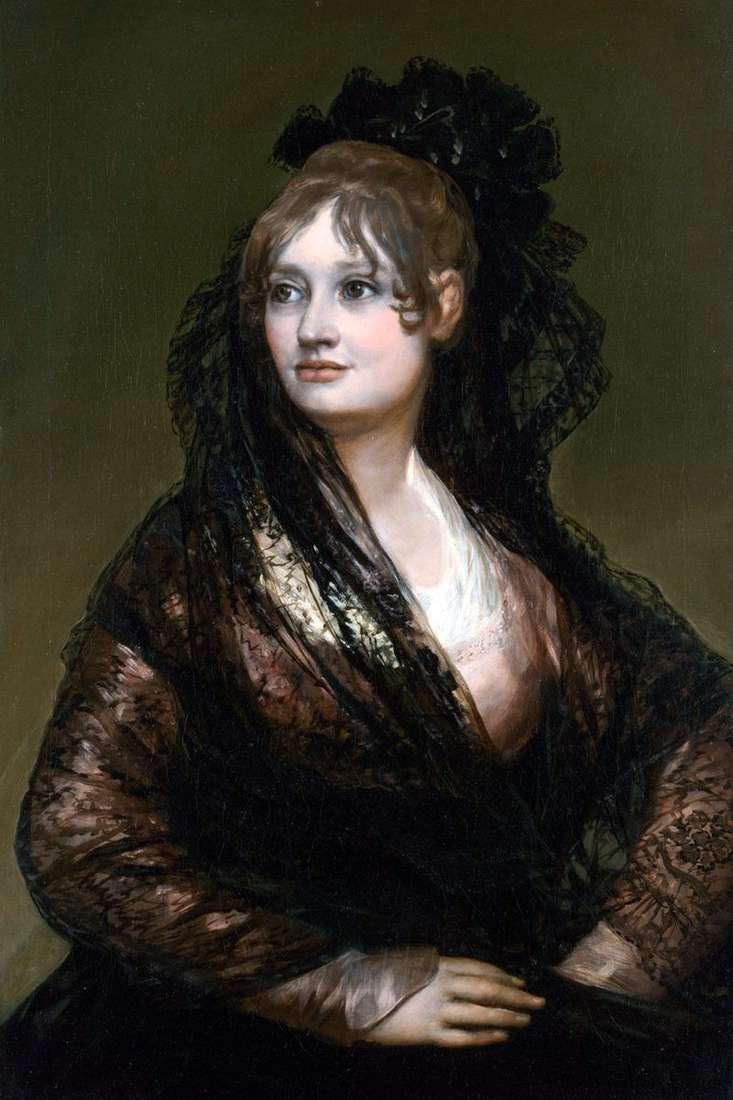 Портрет донни Ісабель де Порсель   Франсіско де Гойя
