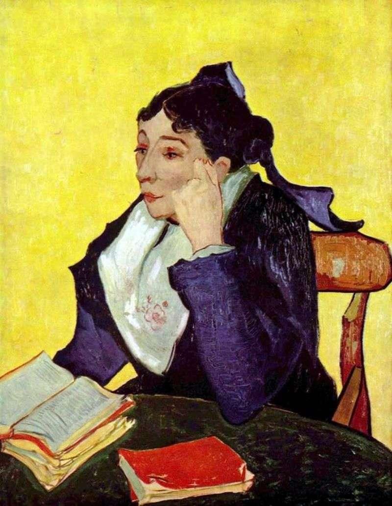 Арлезіанка: Мадам Жіну з книгами   Вінсент Ван Гог