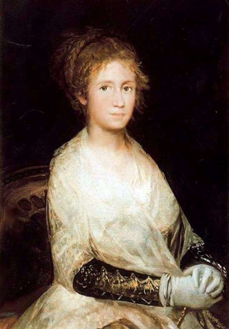 Портрет дружини   Франсіско де Гойя