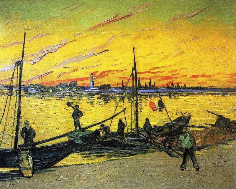 Баржі 2   Вінсент Ван Гог