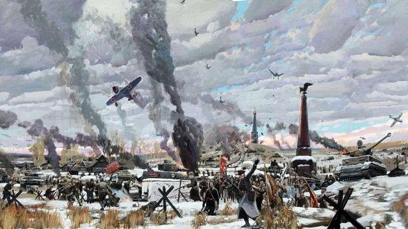 Битва під Москвою   Павло Риженко