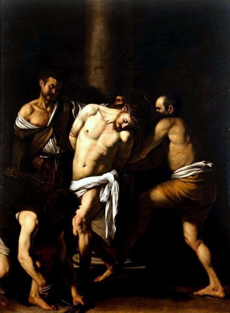 Бичування Христа   Мікеланджело Мерізі да Караваджо